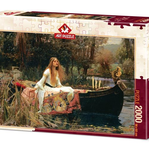 The Lady of Shalott/بانو/ 2000 تکه