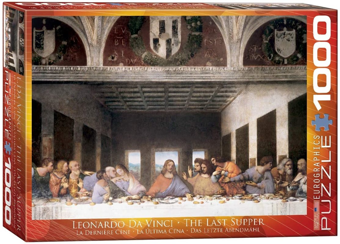 The last supper داوینچی